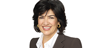 Pictured: Christiane Amanpour