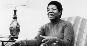 Pictured: Dr. Maya Angelou circa 1970s.