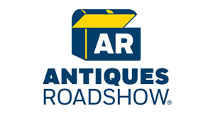 Pictured: Antiques Roadshow 20th season logo