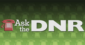 Pictured: Ask the DNR program logo