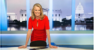 Pictured: Katty Kay, Host of BEYOND 100 DAYS.