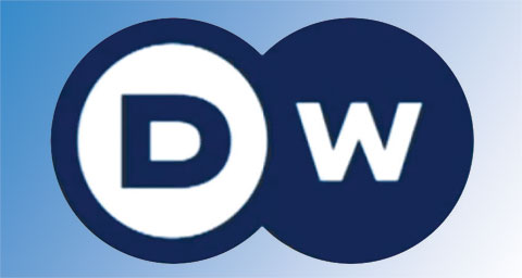 Pictured: DW logo.