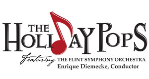 Pictured: Holiday Pops concert logo