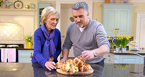 Pictured: Mary Berry and Paul Hollywood