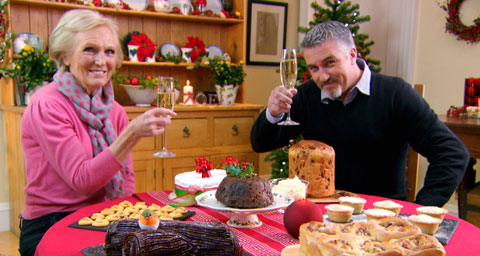 Pictured: Judges Mary Berry and Paul Hollywood