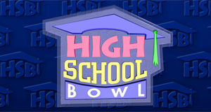 Pictured: High School Bowl series logo