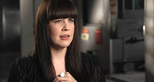 Pictured: Caitlin Doughty, a mortician, vlogger and bestselling author.