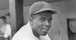 Pictured: Jackie Robinson