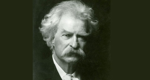 Pictured: Mark Twain