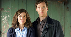 Pictured: Shown from left to right: Kelly Macdonald as Julie Lewis and Benedict Cumberbatch as Stephen Lewis.