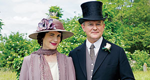 Pictured: Elizabeth McGovern as Cora, Countess of Grantham, and Hugh Bonneville as Robert, Earl of Grantham.