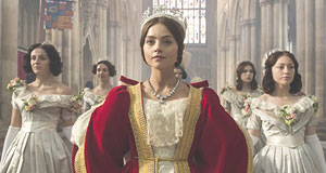 Pictured: Jenna Coleman as Queen Victoria.