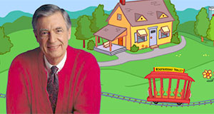 Pictured: Fred Rogers.