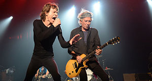 Pictured: Mick Jagger and Keith Richards