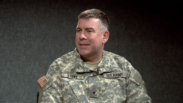 Pictured: Brig. Gen. Michael Stone, Michigan National Guard